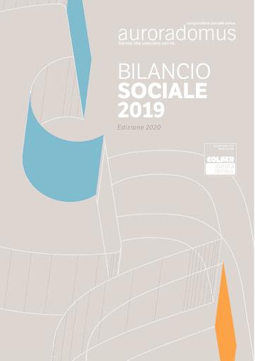 Bilancio Sociale 2019 ed. 2020