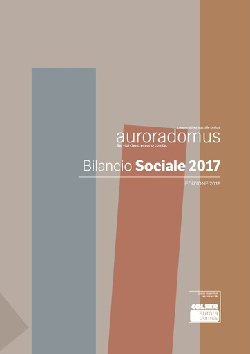Bilancio Sociale 2017 ed. 2018