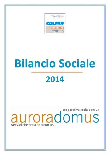 Bilancio sociale 2014